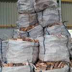 1 cubic metre bags of logs