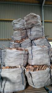 1 cubic metre bags of logs