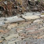 Beautiful slate walling