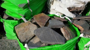 Slate availble in 1 ton bags