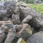 Plenty of local granite available